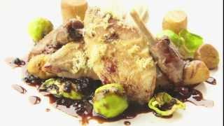 Michelin Star Chef  André Garrett Prepares Mackerel, Partridge And Baked Apple Recipes