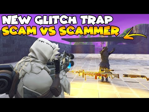 Jump Through Glitched Trap NEW Scam! 🤯 (Scammer Gets Scammed) Fortnite Save The World