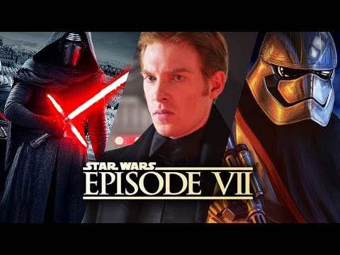 How Captain Phasma, General Hux and Kylo Ren Survived Starkiller Base - Star Wars The Force Awakens