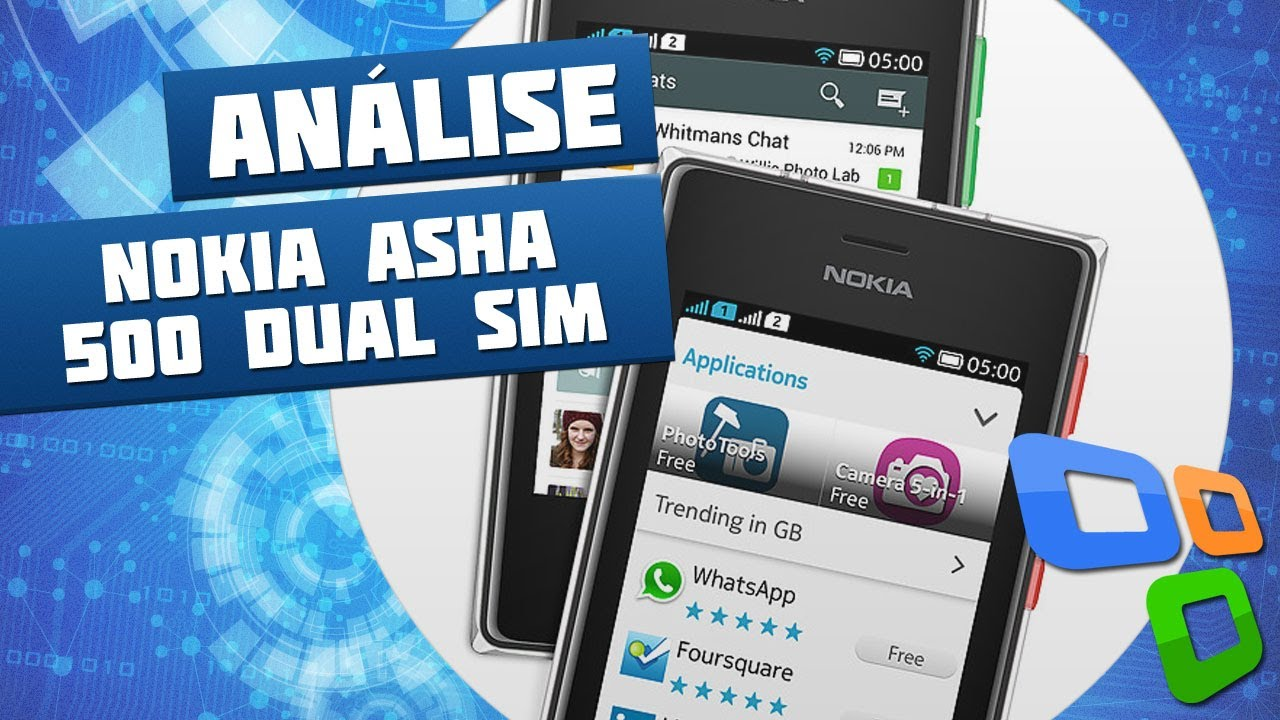 Nokia asha 500 anlise de produto tecmundo youtube ccuart Image collections