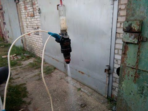 ЧИСТКА ФОРСУНОК (инжектора) прочистка своими руками ВАЗ 2114 Волга форсунки доступным способом