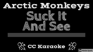 Arctic Monkeys Suck It And See CC Karaoke Instrumental