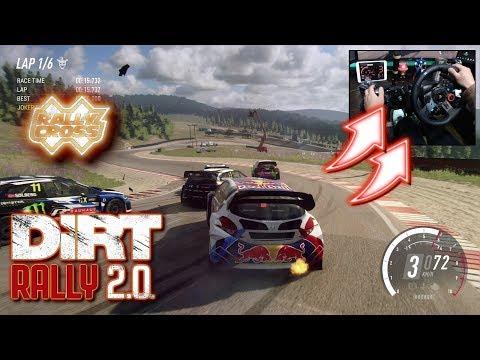PEUGEOT 208 WRX Rallycross Norway / Logitech G29 DiRT Rally 2.0