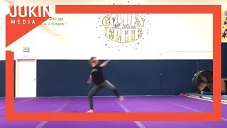 Woman Shows off Incredible Martial Arts Routine