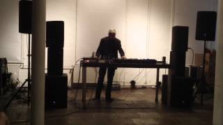 Asmus Tietchens live at PHONO Festival 2014
