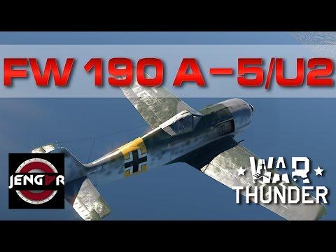 War Thunder Realistic: Fw 190 A-5/U2 [Epic Defensive Flying]