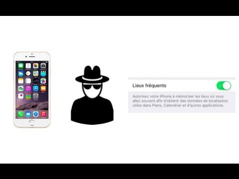 LiPhone aussi nous espionne, voilà comment len empêcher !
