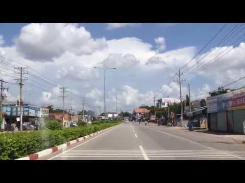 Đi lên vùng Bình Long, Lộc Ninh, Bình Phước, June 28, 2013