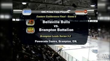 OHL Rewind - Friday Night Hockey: Belleville Bulls @ Brampton Battalion - April 24 2009 Game 6 ECF