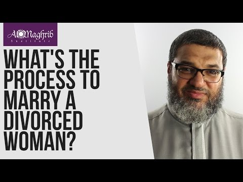 What's The Process Of Marrying A Divorced Woman | Waleed Basyouni | AlMaghrib Institute