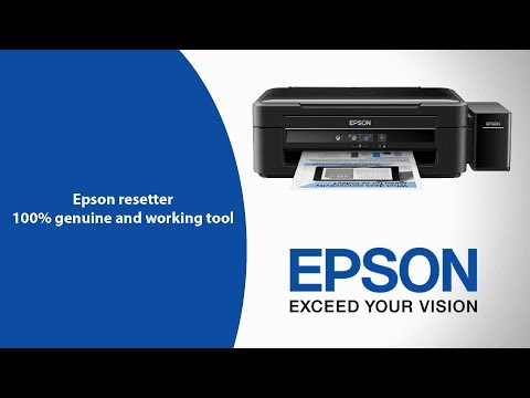 Epson L380 resetter tool - Download Epson L380 resetter software