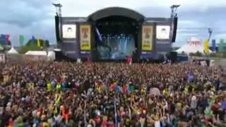 Arctic Monkeys Brianstorm Live T In The Park Festival Hq
