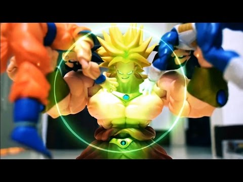 Dragon Ball Stop Motion - Great Broly 七龍珠布羅利篇
