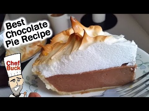 Best Chocolate Pie Recipe ...Seriously
