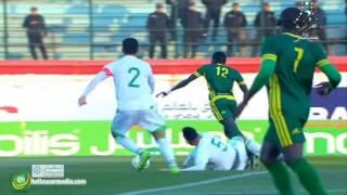 الحسن العيد يفتتح باب التسجيل في الدقيقة 18 - موريتانيا 1 -0 الجزائر