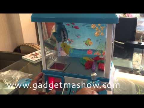 รีวิวตู้คีบตุ๊กตามินิ Clip Fish Machine