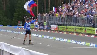 Победный финиш Игоря Малиновского в смешанной эстафете в Чайковском