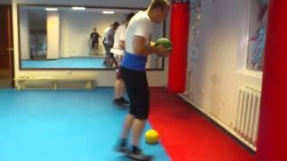 Бокс.Скоростно-силовая подготовка(Бокс в Октябрьском Спортивный клуб
