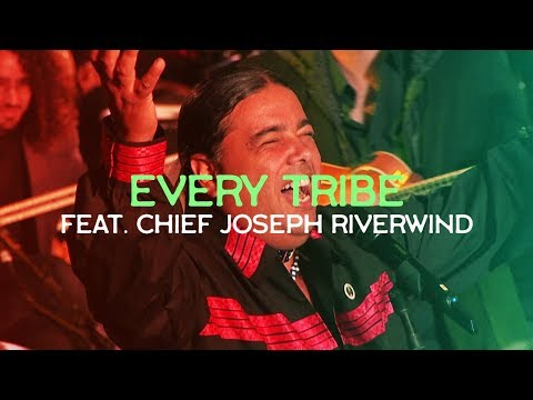Native American Chief Joins Joshua Aaron LIVE At The TOWER Of DAVID  EVERY TRIBE ~ Messianic Worship