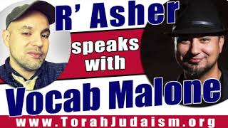 R' Asher speaks with Vocab Malone