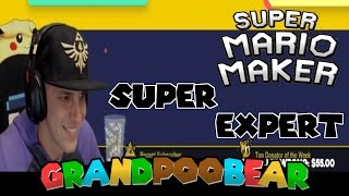 Mario Maker Super Expert 100 Man: To Skip, Or Not To Skip