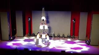 馬戲之門 - 特技旗舞