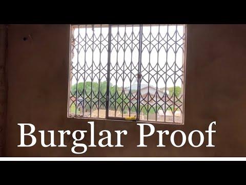 Cost of Building in Ghana - Episode 12 - Burglar Proof