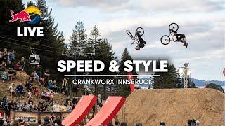 REPLAY: Crankworx CLIF Speed \u0026 Style Innsbruck