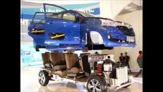 Rangka dan Mesin Daihatsu Great XENIA di GIIAS 2015