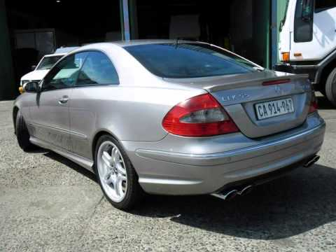 2006 Mercedes Benz Clk 55 Amg Auto For On Trader South Africa