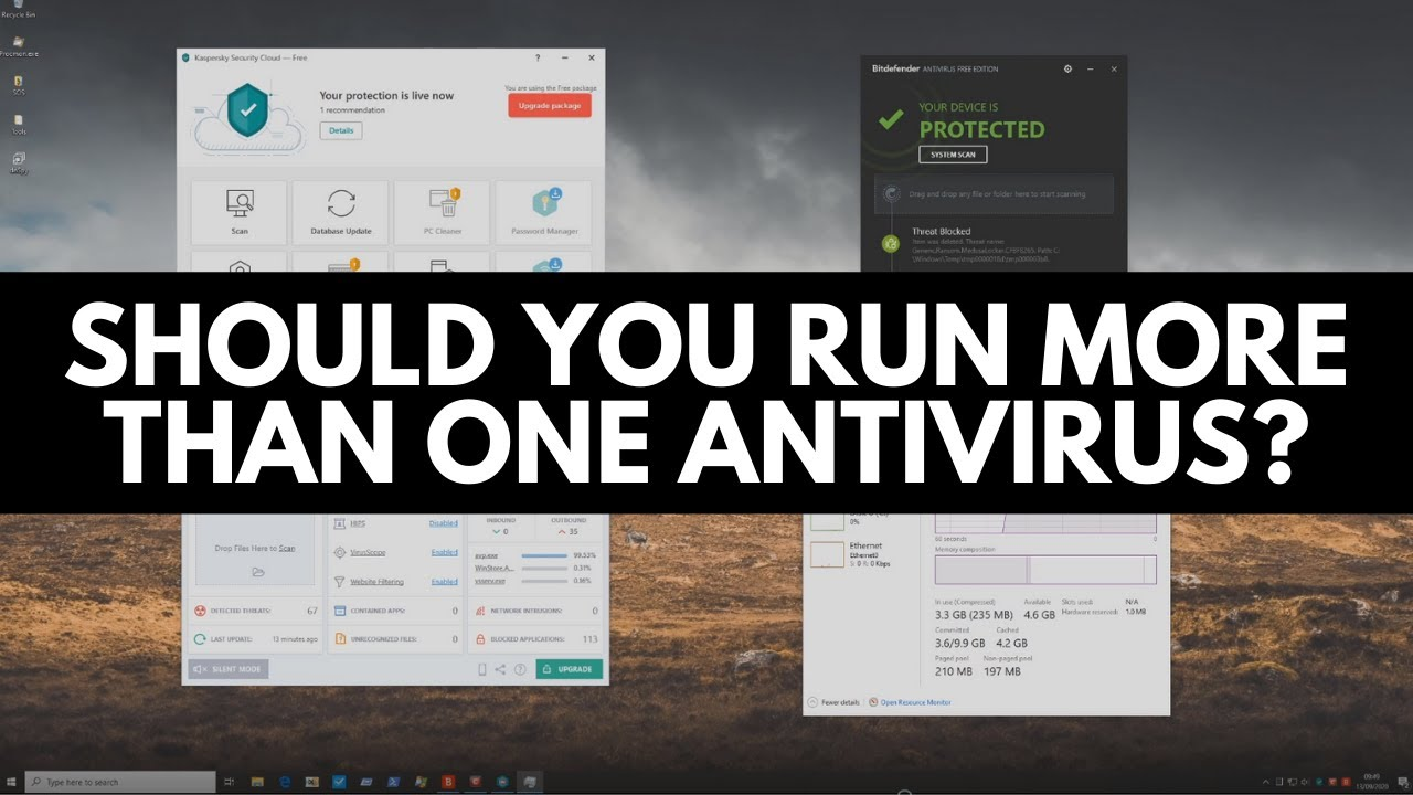 Can you use more than one antivirus?