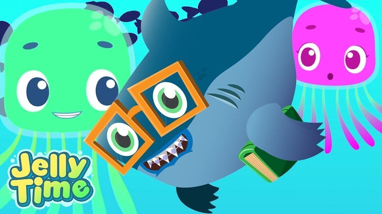 Nurse Shark Joins Elementary School   Jelly Time Full Episodes   WildBrain Preschool for Kids