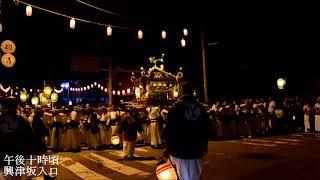 千葉県勝浦市興津 平成二十九年度鹿島神社例大祭