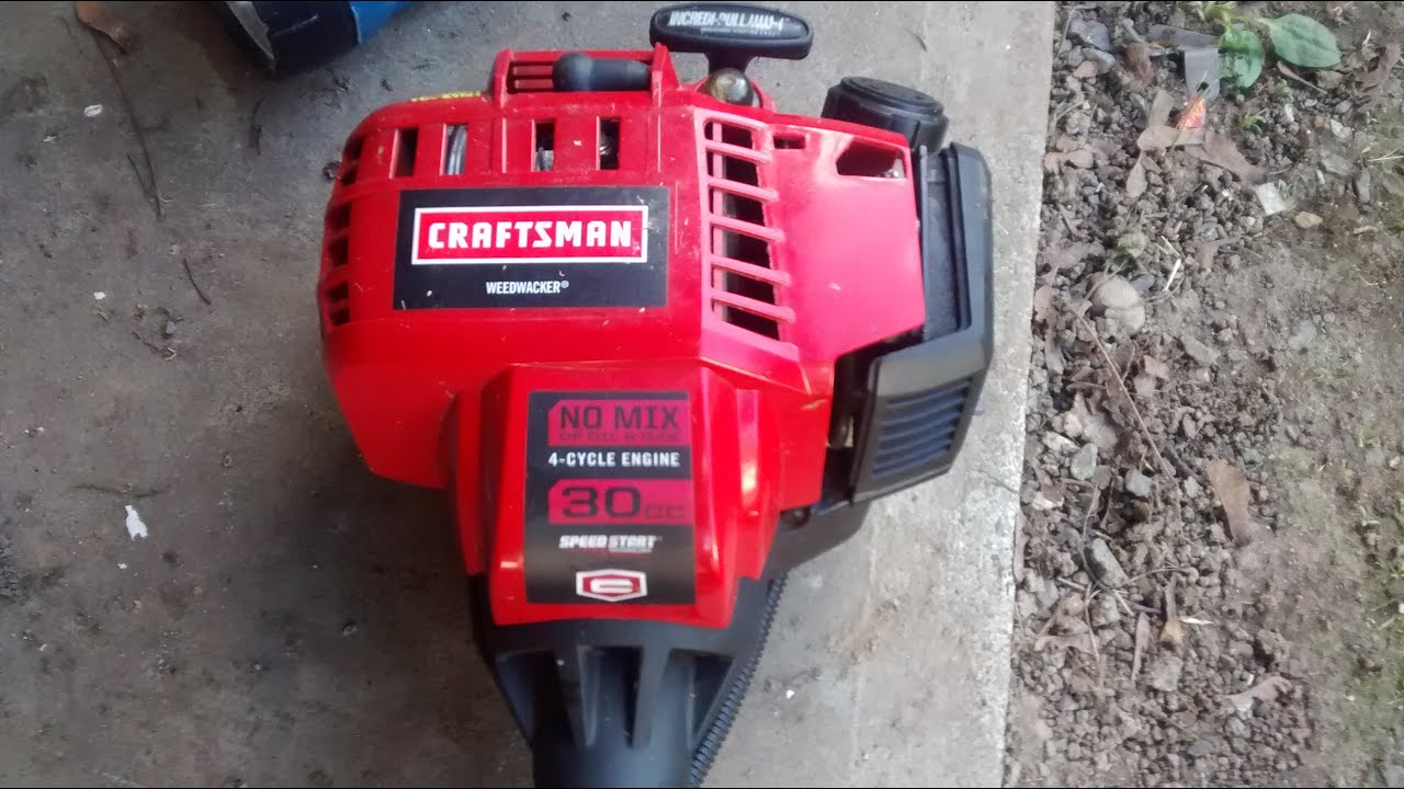 Craftsman 30cc 4 Cycle Weedwacker Fix