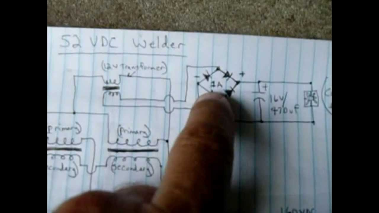 Mig Welding Machine Diagram 52 Vdc Microwave Oven Stick Welder Part 2 Youtube