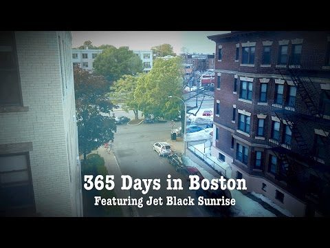 365 Days in Boston, a Full Year Time Lapse
