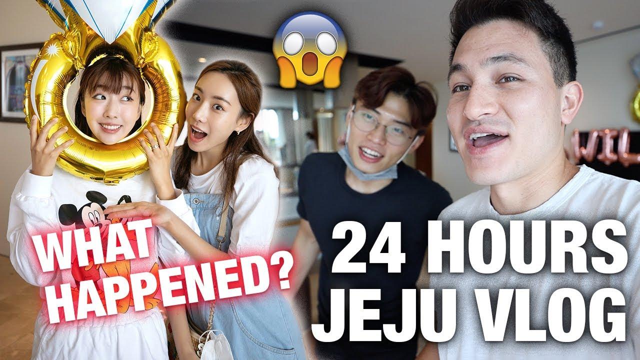 WHAT HAPPENED IN JEJU? | CRAZIEST 24 HOUR KOREA VLOG  [Ft. Hansol Korea Reomit & Jini]