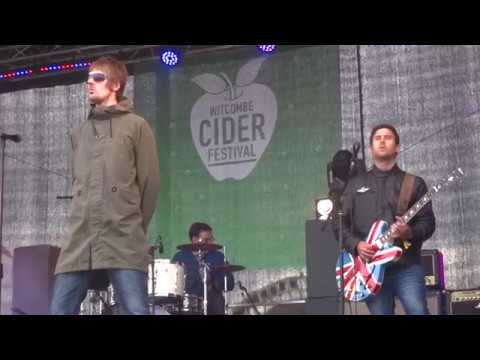 "Oas-is ""Live Forever"" live @ Witcombe Cider Festival 2017"