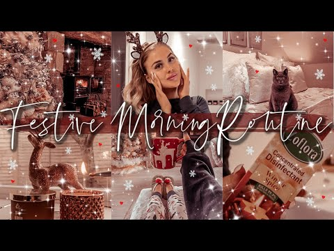COZY FESTIVE/HOLIDAY MORNING ROUTINE 2019 | Gemma Louise Miles