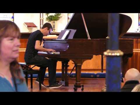 2017 Santa Cruz Ragtime Festival - Kylan DeGhetaldi - Tribute to Tom Brier