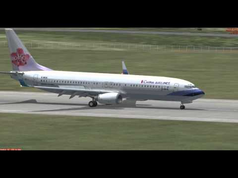 FSX China Airlines with Boeing737-800