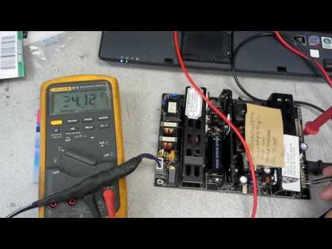 Testing MLT-666A-AH power supply for MOD-3200 MA32EF1AC