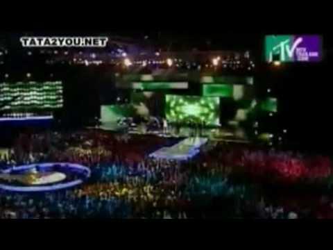 Tata Young - I Believe @ MTV Asia Aid 2005