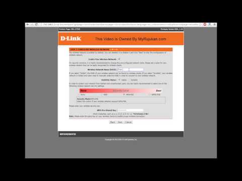 How To Set D Link Modem Router For Streamyx User
