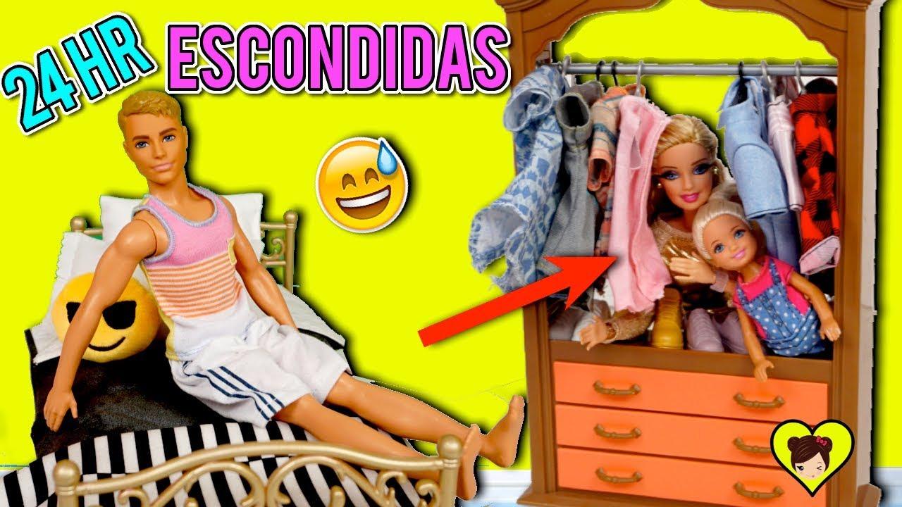 La En Horas El Noche Entera Closet Barbie Reto 24 Ken Pasa De FcTluJ3K1