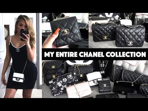MY ENTIRE CHANEL COLLECTION | HANDBAGS + MORE  2019 | hollyannaeree