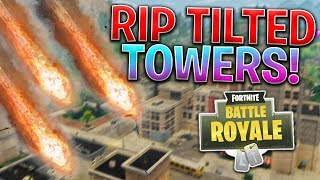 TILTED TOWERS GETTING DESTROYED TONIGHT?! *HUGE UPDATE* Fortnite Battle Royale