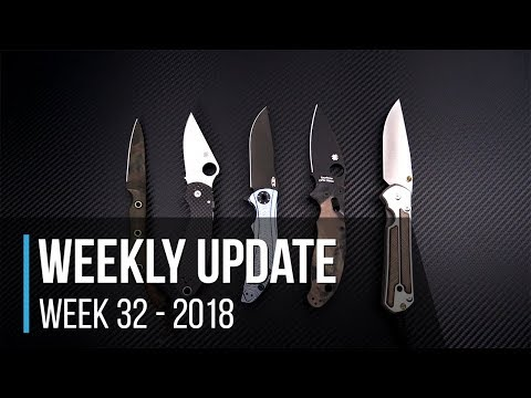 Weekly Update Series Week 32 - 2018: Spyderco & ZT Sprints, Kershaw Launch Auto, Lion Armory Beads