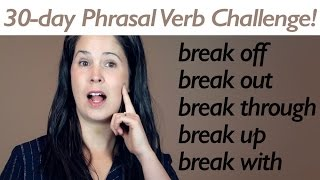 PHRASAL VERB BREAK part 2