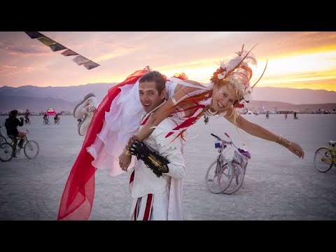 Burning Man Shaman Wedding - Twin Flame Union: The Fairy Tale is Real!
